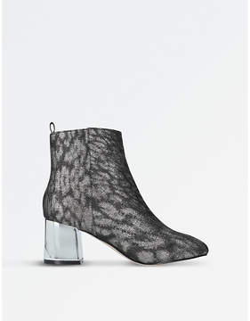 Miss KG Ladies Gunmetal Modern Tilly Ankle Boots