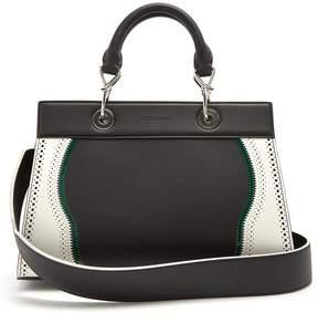 Altuzarra Shadow contrast-trimmed small leather bag