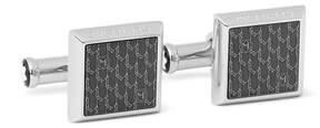 Montblanc Stainless Steel Enamelled Cufflinks