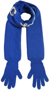 Oeuf Hug Me Double Tricot Scarf W/ Gloves