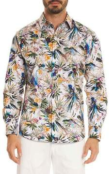 Robert Graham Botanics Long-Sleeve Sport Shirt