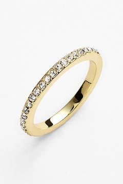 Ariella Collection Pave Midi Ring - Size 3