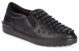 Valentino Nero Slip On Sneakers