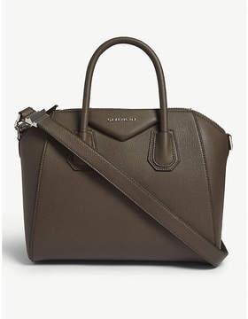 Givenchy Heather Grey Antigona Sugar Leather Tote Bag