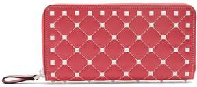 Valentino Free Rockstud leather continental wallet