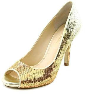 Enzo Angiolini Maiven Women Peep-toe Synthetic Heels.