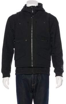 Marc Jacobs Beaver Fur-Lined Vest & Jacket Set