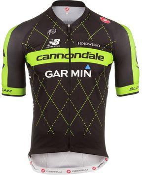 Castelli Cannondale/Garmin Team 2.0 Jersey - Short Sleeve