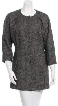 Francesco Scognamiglio Tweed Coat w/ Tags