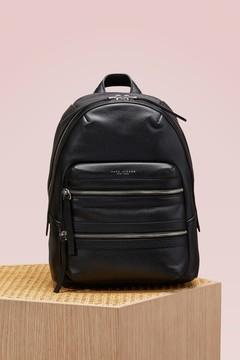 Marc Jacobs Leather Biker Backpack