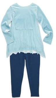 Splendid Baby's Two-Piece Velour Top& Leggings Set