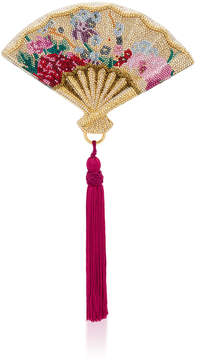 Judith Leiber Couture Gion Fan Clutch