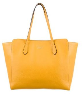 Gucci Medium Swing Tote - YELLOW - STYLE