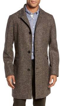 Billy Reid Men's William Merino Wool Topcoat