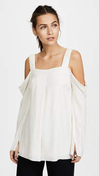Elizabeth and James Yera Cold Shoulder Top
