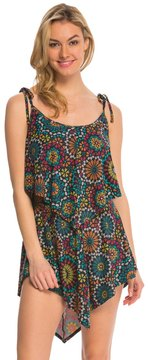 Coco Rave Swimwear Sparkly Medallion Zoe Cover Up Dress 8140165