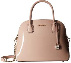 MICHAEL Michael Kors Mercer Large Dome Satchel Satchel Handbags - BALLET - STYLE