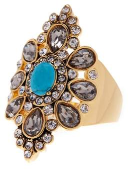 Ariella Collection Stone Cocktail Ring - Size 7