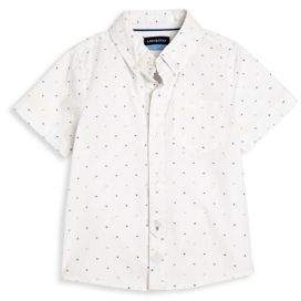 Andy & Evan Babys Clipped Short Sleeve Shirt