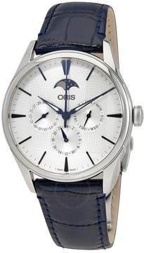 Oris Artelier Complication Silver Dial Men's Multifunction Watch