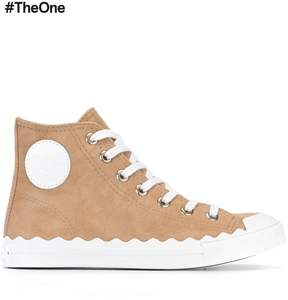 Chloé Kyle hi-top sneakers