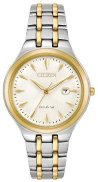 Citizen EW2494-54A Corso Womens Watch Two-Tone Silver/Gold 32mm Stainless Steel