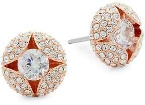 Adriana Orsini Women's Cordial Crystal Stud Earrings