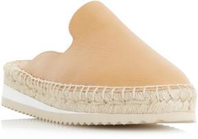 Dune London GENIEE - TAN Backless Espadrille Shoe