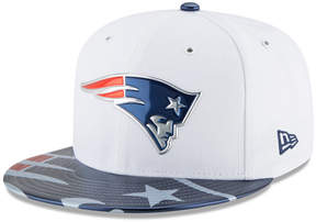 New Era Boys' New England Patriots 2017 Draft 59FIFTY Cap