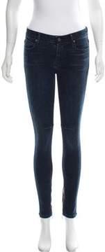 RtA Denim Skinny Mid-Rise Jeans w/ Tags