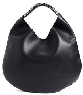 Givenchy Medium Infinity Calfskin Leather Hobo - Black