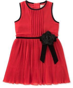 Kate Spade Girls' Pleated Chiffon Dress, Size 7-14