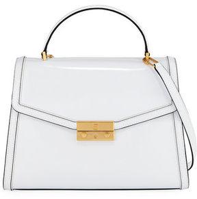Tory Burch Juliette Patent Top Handle Satchel Bag - IMPERIAL GARNET - STYLE