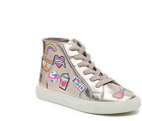 Steve Madden Strixxy Youth High-Top Sneaker - Girl's