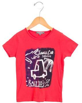 Bonpoint Boys' Jungle Cars Graphic Shirt