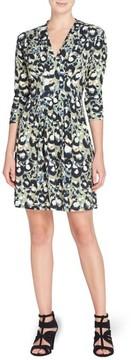 Catherine Malandrino Women's Tinka Pleat Sheath Dress