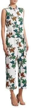 Akris Punto Tropical Print Jumpsuit