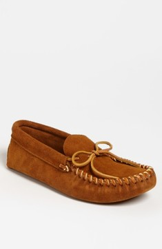 Minnetonka Men's Suede Moccasin
