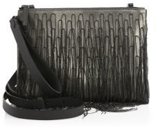 Brunello Cucinelli Waterfall Leather Clutch