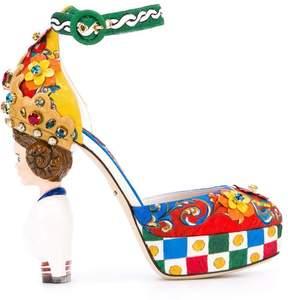Dolce & Gabbana Carretto Siciliano print pumps