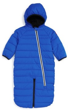 Canada Goose Infant Boy's 'Pup' Water Resistant Hooded Down Bunting