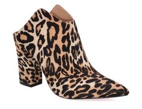Joe's Jeans Women's Sydney Genuine Calf Hair Pointy Toe Mule