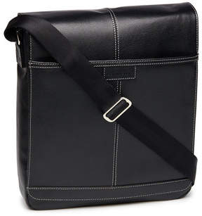 Perry Ellis Leather Crossbody Bag