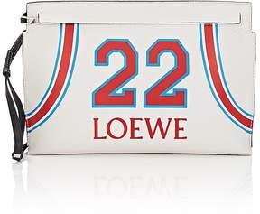 Loewe Women's T Leather Pouch