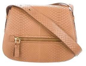 Tom Ford Jennifer Python Saddle Bag