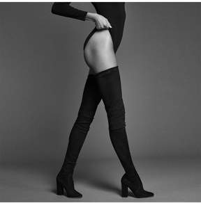 Tamara Mellon Helmut Thigh High Stretch Suede