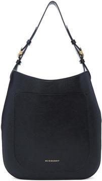 Burberry Black Small Elmstone Hobo Bag - BLACK - STYLE