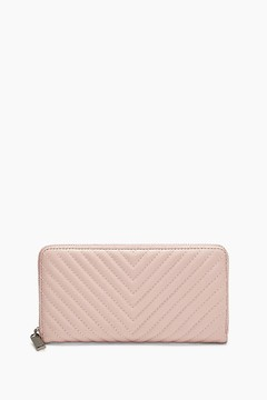Rebecca Minkoff Continental Love Wallet - PINK - STYLE