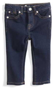 7 For All Mankind Infant Girl's Skinny Fit Jeans