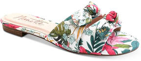 Nanette Lepore Nanette by Kendra Knotted Slide Sandals, Created for Macy's Women's Shoes